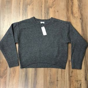 Gymboree Girl's Gray & Blue Sweater NWT